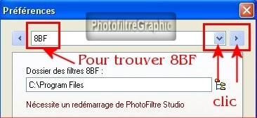 TÉLÉCHARGER FILTRE 8BF POUR PHOTOFILTRE STUDIO GRATUIT