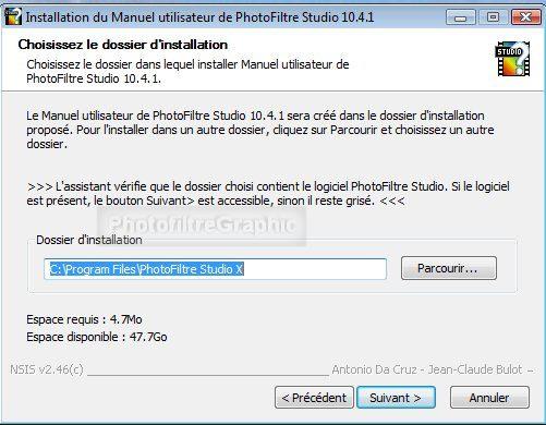 PHOTOFILTRE X GRATUIT STUDIO TÉLÉCHARGER 10.4.0