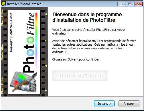 GRATUIT TÉLÉCHARGER PHOTOFILTRE 6.5.2
